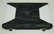"""Dell XPS M1730 17"""" LCD Back Cover Lid w/Hinges - FT509 FT509 (U)"""
