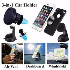 Universal 360° Car Mount Ball Sticky Magnetic Stand Holder For Cell Phone GPS