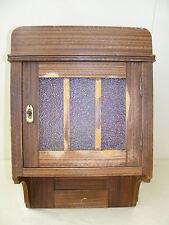 Kleiner alter Wandschrank,Medizinschrank, Holz, Küchen- Hängeschrank,Bauernhaus