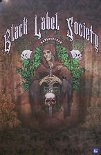 BLACK LABEL SOCIETY, UNBLACKENED POSTER  (J8)
