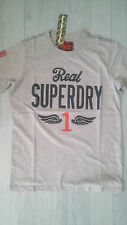 New Super Dry T-shirt  Gray Men`s Size XXL