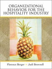 Organizational Behavior for the Hospitality Industry-ExLibrary