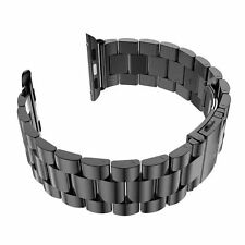 Stainless Steel Metal Watch Band Strap + Adapter For Apple Watch Iwatch 42mm