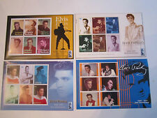 ELVIS PRESLEY MINT STAMP SHEETS - 20 SHEETS - WORLD WIDE & 2 HALF DOLLARS - RH-3
