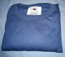 Air Force RAAF Blue Gray LARGE Utility T Shirt WALKABOUT Made In Australia