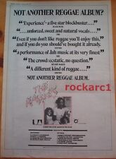 The RASSES Album & Tour 1979 UK Poster size Press ADVERT 16x12 inches