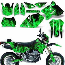 Decal Graphic Kit Suzuki DRZ400  SM E Dirt Bike Sticker w Backgrounds ICE GREEN