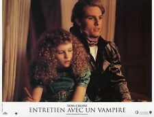 TOM CRUISE INTERVIEW WITH THE VAMPIRE 1994 VINTAGE LOBBY CARD #8