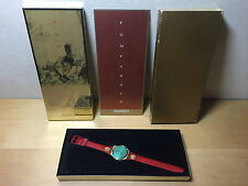 Watch Reloj Montre SWATCH - Christmas Special 1988 POMPADOUR - Ref. GX106