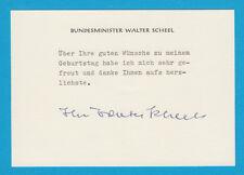 Walter Scheel (GER) - Bundespräsident von 1974 bis 1979 - # 13555