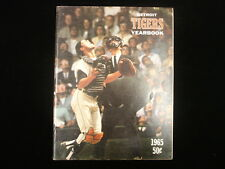 1965 Detroit Tigers Baseball Yearbook