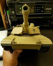 1/24 U.S. M1A2 Abrams Radio remote control RC Battle Tank w/ Airsoft gun