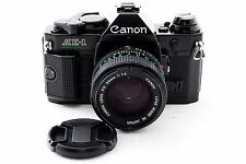 Canon AE-1 Program Black with New FD 50mm f/1.4 NFD Lens [Excellent+] from Japan