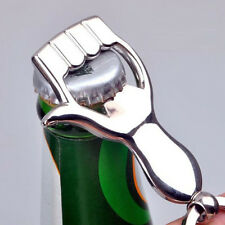 New Design Silver Color Thumb Up Hand Keychain Key Ring Beer Bottle Opener