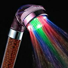 Romantic Automatic Bathroom LED Colorful Shower Head RC-9818B Discoloration