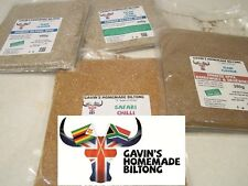 Biltong Spice Seasoning 450g SPICY CHILLI Spice CONCENTRATED - GLUTEN & MSG Free