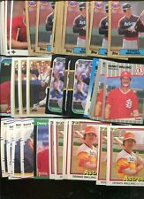 DENNY WALLING BULK LOT OF 100 CARDS ASTROS CARDINALS NEPTUNE NEW JERSEY