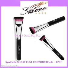 NEW Sedona Lace SHORT FLAT CONTOUR Brush #781 FREE SHIPPING Face Makeup Sculpt