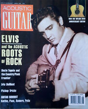 ACOUSTIC GUITAR - JULY / AUGUST 1994 - ELVIS PRESLEY COVER STORY - 122 PAGES