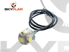 SKYFLAR Paramotor Strobe Light upto 5 miles visibility 50W power LED+BATTERY 12v