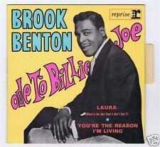 45 RPM EP BROOK BENTON ODE TO BILLY JOE