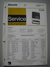 Philips N2221 Service Manual
