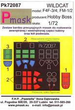 Model Maker 1/72 GRUMMAN F4F-3 F4F-4 & FM-1 FM-2 WILDCAT Paint Mask Set
