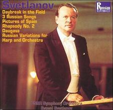 Svetlanov: Daybreak in the Field; 3 Russian Songs; Pictures of Spain and(cd5092)