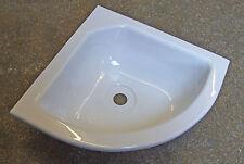 Corner bowl 286 x 286 WHITE caravan camper motorhome boat horsebox   310174