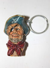 Pirate Captain Key Ring, a Useful, Weird, Bizarre Present or Gift
