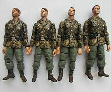 #T482~lot of 4 21st Century Toys 1:18 The Ultimate Soldier German  Asault gunner