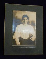 Antique / Old Photograph - Identified - Alice Greenhalgh Ireland