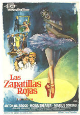 THE RED SHOES MICHAEL POWELL SPANISH HERALD MINI POSTER B