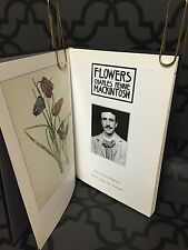 FLOWERS Charles Rennie Mackintosh 1985 HC Illustrated Book Nouveau Arts Crafts