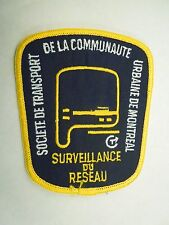 Societe De Transport De La Communaute Urbaine De Montreal Surveillance Patch