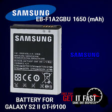 100% GENUINE NEW BATTERY FOR SAMSUNG GALAXY S2 II GT-i9100 EB-F1A2GBU 1650mAh