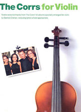 The Corrs Learn to Play POP Rock Irish Celtic Songs Fiddle Violin Music Book