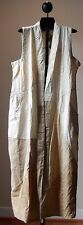 NWT Sacred Threads Cotton Patch Pockets Duster Long Vest  Hippie Boho Gypsy S