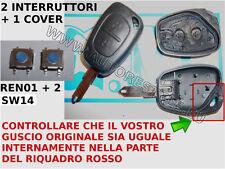 Mando carcasa llave RENAULT Master Megane Twingo Trafic Opel Vivaro +2