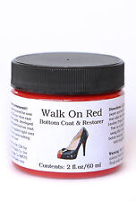 Angelus Walk On Red Shoe Sole Restorer Red Bottom Sole Touch Up Paint 2 oz.