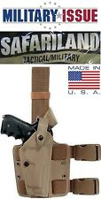 NEW Military SAFARILAND 6004-73-551 Leg Holster BERETTA 92 96 STX Tactical RH