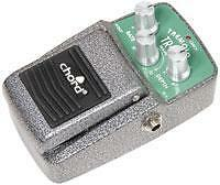 Chord 174.249 TR-50 Tremolo Electric Guitar Effects Pedal Variable Rate & Depth