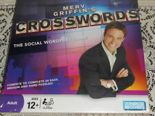 Merv Griffin's CROSSWORDS Crossword Board Game - Social Wordplay SEALED