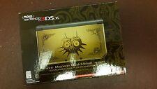 NINTENDO 3DS XL Legend of Zelda Majora's Mask Limited Edition BRAND NEW SEALED