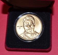 Brett Favre Highland Mint One Troy Ounce Bronze MVP Medallion Packers HOF /15000