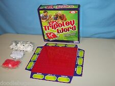 RARE 2010 Ideal TRIPOLEY WORD Fast-Paced Spelling Letter Tile Family Board Game