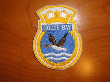 Canadian Navy Badge Ship's Crest HMCS Goose Bay nice