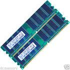 2GB (2x1GB) DDR 266 MHz PC2100 Non-ECC Desktop PC (DIMM) Memory RAM 184-pin