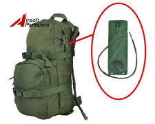 3L Tactical Molle Hydration Backpack Camelbak Pack Water Bladder Bag Olive Drab