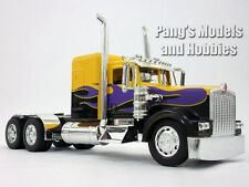 Kenworth W900 Yellow Custom Truck Cab Diecast Metal 1/32 Scale Model by NewRay